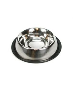 Stainless Steel Round Feeding Dish ~ 16oz