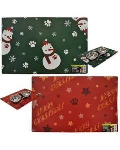 Christmas Pet Placemat ~ 43cm x 28cm