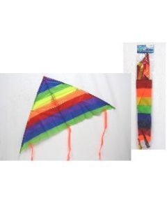 "Rainbow Fabric Kite ~ 41.5"" x 20.5"""