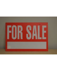 """Corrugated Plastic Sign - 16"""" x 24"""" ~ For Sale"""