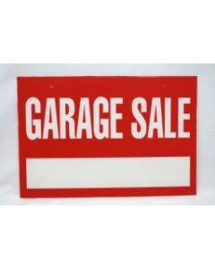 "Corrugated Plastic Sign - 16"" x 24"" ~ Garage Sale"