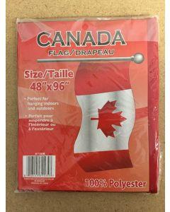 """Canada Flag ~ 4' x 6' {48"""" x 96""""}"""
