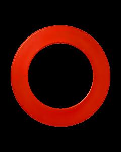 Winmau Plain Dartboard Surround ~ RED