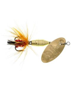 Panther Martin Lure - Size 15 ~ Deluxe Fly Gold/Orange