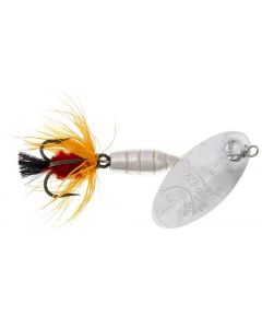 Panther Martin Lure - Size 15 ~ Deluxe Fly Silver/Orange