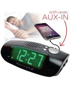 Jumbo Digital Display Radio Alarm Clock