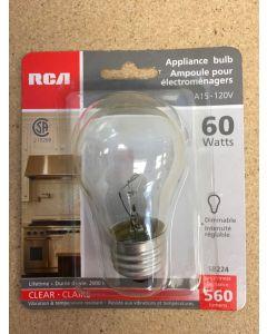 Appliance Bulb - 1 per pack ~ 60W