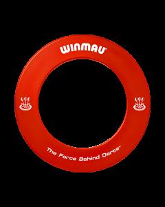 Winmau Printed Dartboard Surround ~ RED