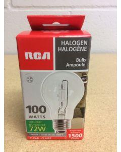 Halogen Lightbulbs - Clear - 1 per pack ~ 100W