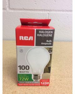 Halogen Lightbulbs - Soft White - 1 per pack ~ 100W