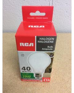 Halogen Lightbulbs - Soft White - 1 per pack ~ 40W