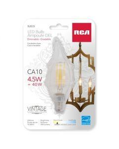 LED Candelabra Base Bulb - Warm White - 1 per pack ~ 4.5W {=40W}