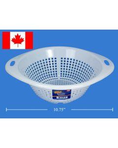 "Royal Plastic Colander ~ 10.75"" Diameter"