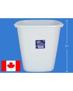 """Royal Plastic Waste Basket ~ 12"""""""