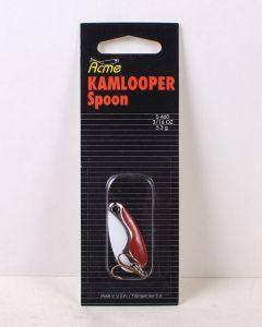Kamlooper 3/16oz ~ Red White Nickel