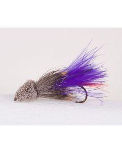 Purple Marabou Muddler Streamer