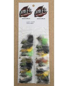 Assorted Wooley Bugger Streamer Flies