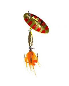 Panther Martin Lure - Size 2 ~ Salamander Fly Gold Yellow