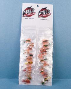 Assorted Salmon Bug Flies