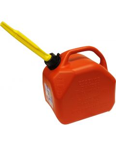 Sceptre Red Gas Can - 5L / 1.25 Gal ~ 8 per sleeve