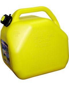 Sceptre Yellow Diesel Can ~ 20L / 5 Gal ~ 4 per sleeve