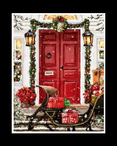 Christmas Micro Mink Throws ~ Christmas Eve