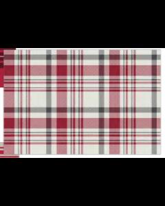 Christmas Textilene Placemats ~ Winter Plaid