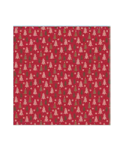 Christmas Water Resistant Shower Curtain with Hooks ~ Winter Wonderland