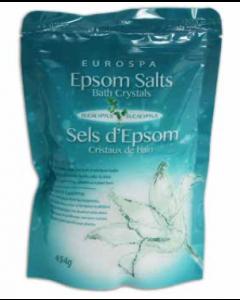 Eurospa Epsom Salt - Eucalyptus Scented ~ 454gram