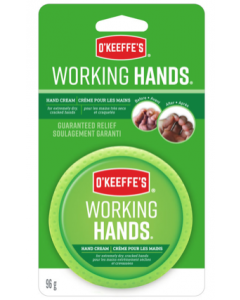 O'Keeffe's Working Hands - 3.4oz Jar Carded ~ 6 per counter display