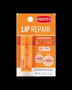 O'Keeffe's Lip Repair Unscented Lip Balm - 4.2gr stick~ 8 per clipstrip