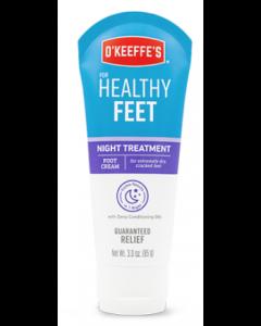 O'Keeffe's Healthy Feet Night Treatment - 3oz Tube ~ 5 per counter display