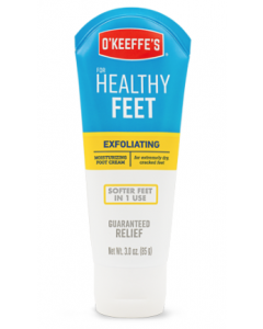 O'Keeffe's Healthy Feet Exfoliating - 3oz Tube ~ 5 per counter display
