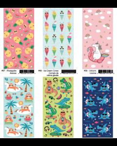 Kid's Fun Velour Beach Towels ~ 6 assorted