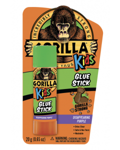 Gorilla Disappearing Purple Glue Sticks for Kids ~ 20gram stick