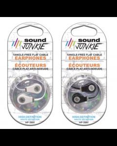 High Definition Earphones w/Flat Wire