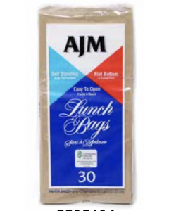 Brown Paper Lunch Bags ~ 30 per pack