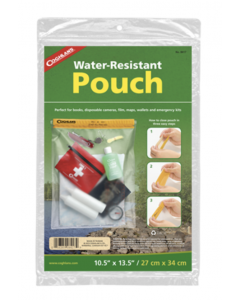 """Coghlan's Water Resistant Pouch ~ 10.5"""" x 13.5"""""""