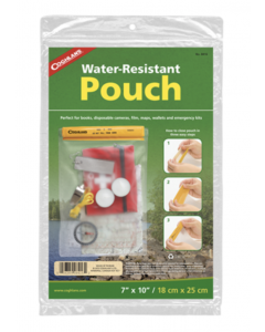 """Coghlan's Water Resistant Pouch ~ 7"""" x 10"""""""
