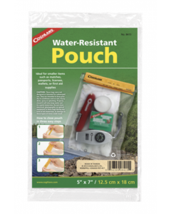 """Coghlan's Water Resistant Pouch ~ 5"""" x 7"""""""