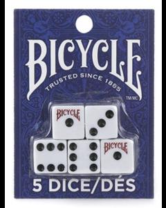 Bicycle Dice Set ~ 5 per pack
