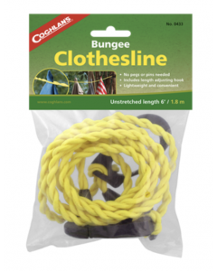 Coghlan's Pegless Bungee Clothes Line ~ 6'