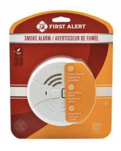First Alert Basic Smoke Alarm ~ Battery Operated