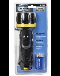 Dorcy LED Rubber Flashlight