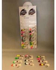 Shad Darts 1/8oz - assorted colors ~ 24 per card
