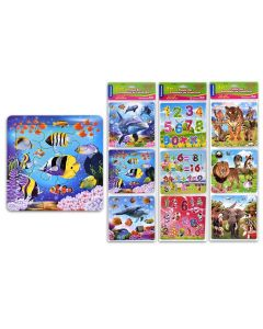 Selectum Puzzle Set - 16 pieces ~ 3 puzzle per pack