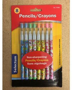 Selectum Non-Sharpening Pencils ~ 8 per pack