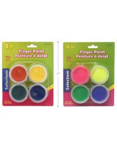 Selectum Finger Paints ~ 4 per pack