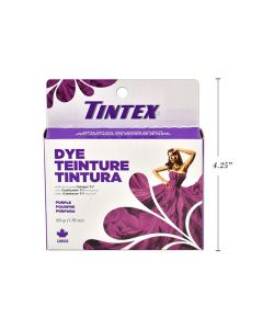 Tintex Fabric Dye - 50gr ~ Purple