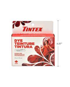 Tintex Fabric Dye - 50gr ~ Scarlet Red